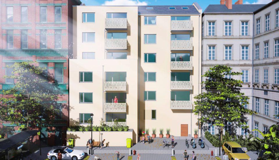 Schließung einer Baulücke in Leipzig