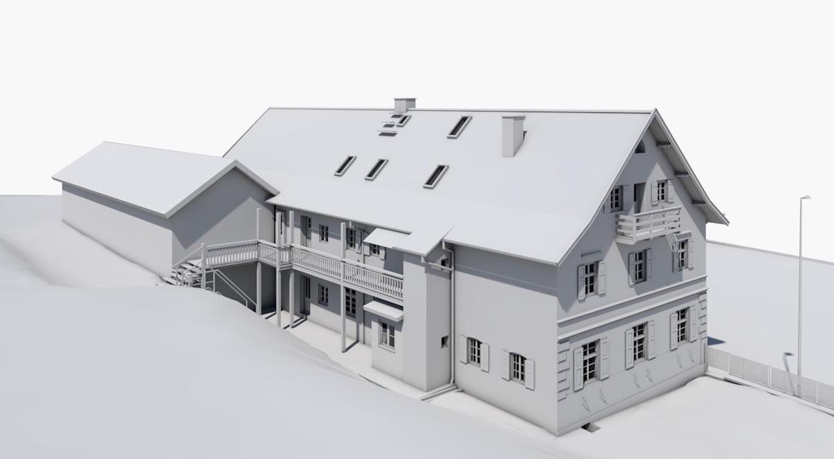 Architekt, Architekturbüro, Architekten, Andechs, Seefeld, Herrsching, Starnberg, Gilching, Punktwolke, BIM, Building Information Modelling, Laserscan, Scanner, Faro