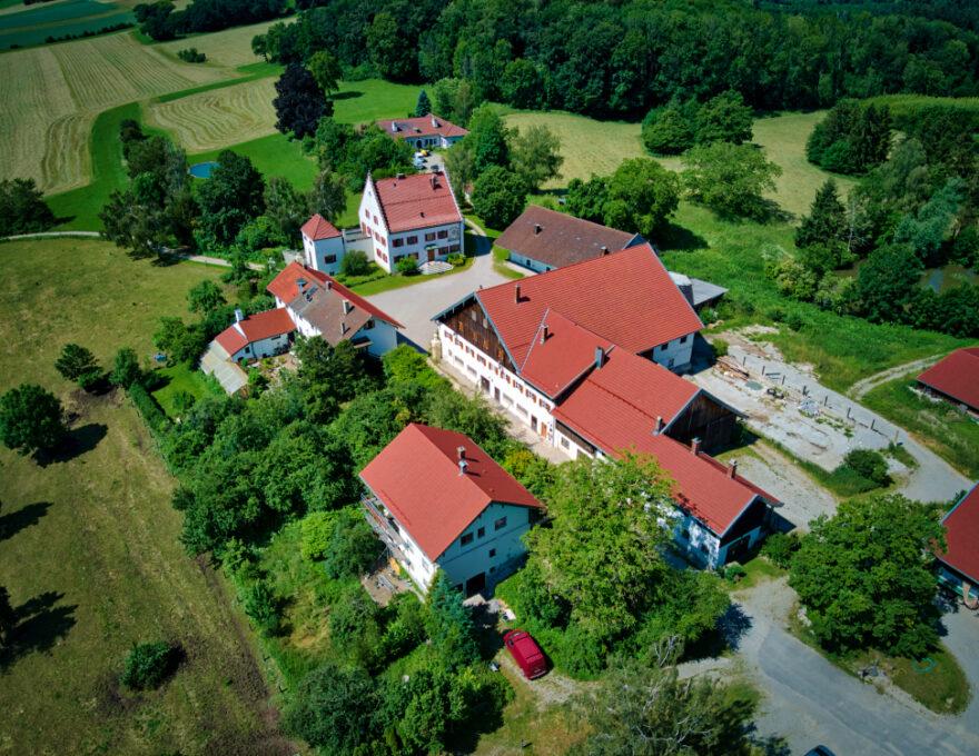 Umbau- und Sanierungsmaßnahmen auf Gut Tiefenbrunn