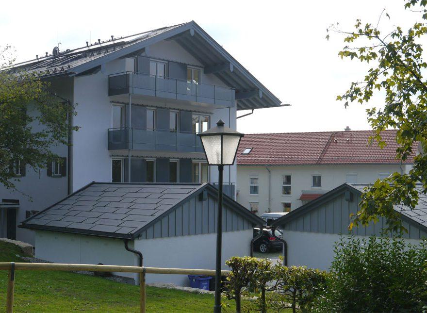 Neubau Mehrfamilienhaus Miesbach