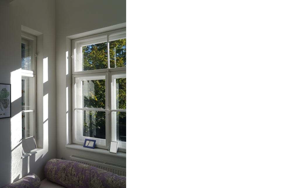 kern & toth - Ihr Architekturbüro im Hochschloß Seefeld / Oberalting - Innenraumaufnahme Erker Umbau und Sanierung einer denkmalgeschützten Villa am Wensauerplatz in der Villenkolonie München Pasing