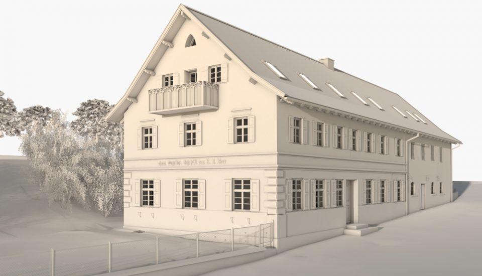 Sanierung und Umbau eines denkmalgeschützten Einfirsthofes in Andechs bei Herrsching