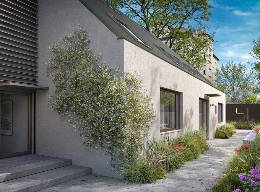 Neubau eines Mehrfamilienhauses in München Schwabing